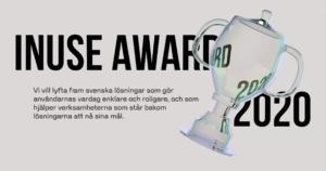 Gröna gårdar finaliser i InUse Award
